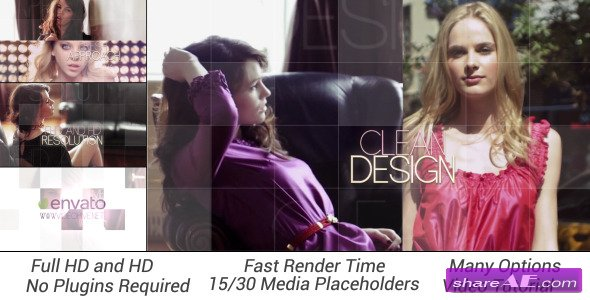 Elegance Slideshow - After Effects Project (Videohive)