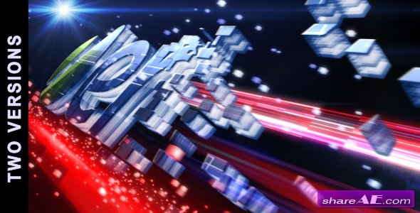 Digitally Generated 3d Logo (2 in 1)  - After Effects Project (Videohive)