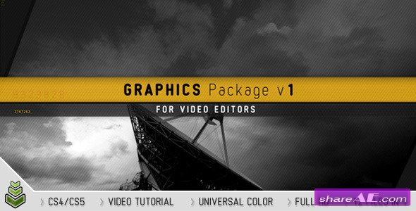 Graphics Package v1 - After Effects Project (Videohive)