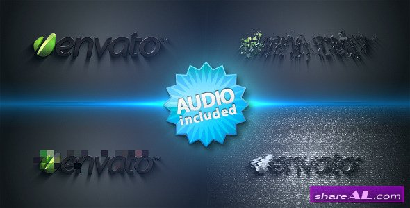 Distorted Logo Sting - After Effects Project (Videohive)