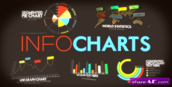 Infocharts - After Effects Project  (Videohive)