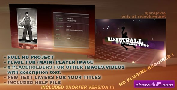 videohive basketball broadcast design