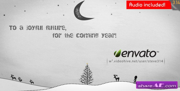 Inkman Presents Xmas New Years Greetings - After Effects Project  (VideoHive)