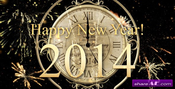 New Year Countdown Clock 2014 - After Effects Project (Videohive)