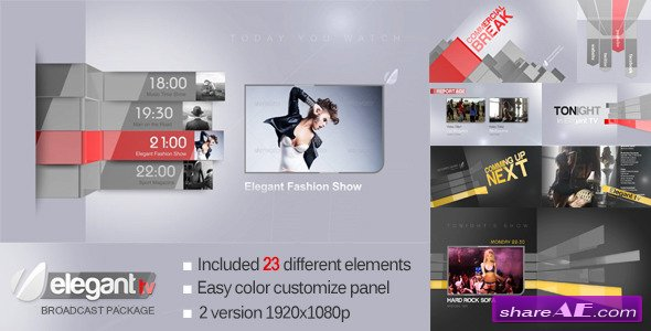 Elegant tv after effects project videohive free after elegant tv after effects project videohive pronofoot35fo Gallery