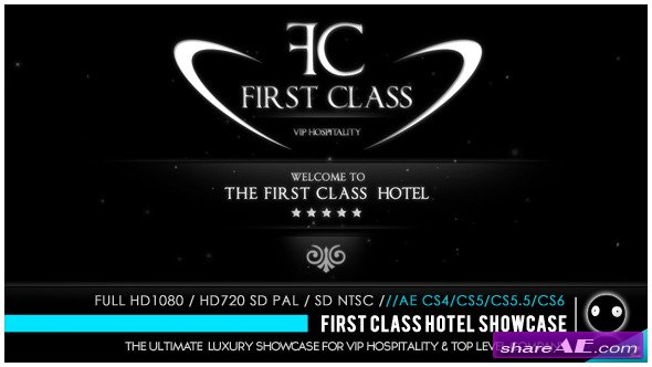 First Class Hotel Showcase - After Effects Project (Videohive)