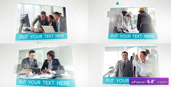 complete corporate presentation video - after effects project, Powerpoint templates