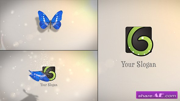Butterfly Logo Reveal 6063266 - After Effects Project (Videohive)