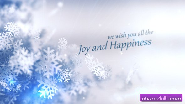 Christmas Winter Rapsody After Effects Project Videohive