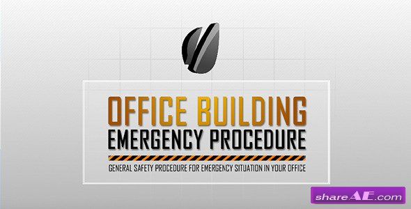 Corporate Emergency Procedure - After Effects Project (Videohive)