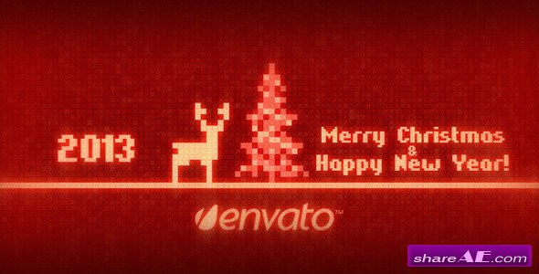 8-bit Christmas - After Effects Project (Videohive)