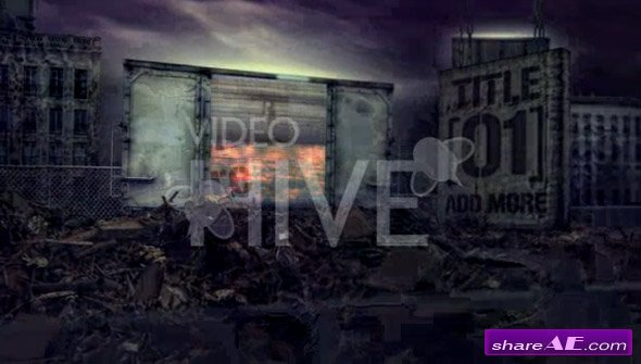 Cinematic Urban Destruct 2 - After Effects project (VideoHive)