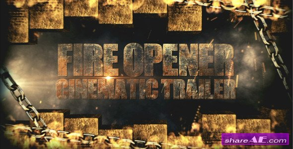 Fire Opener - After Effects Project (Videohive)