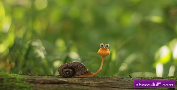 The Snail Logo Opener- After Effects Project (Videohive)