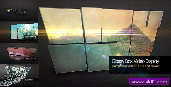 Glossy Box Video Display - After Effects Project (Videohive)