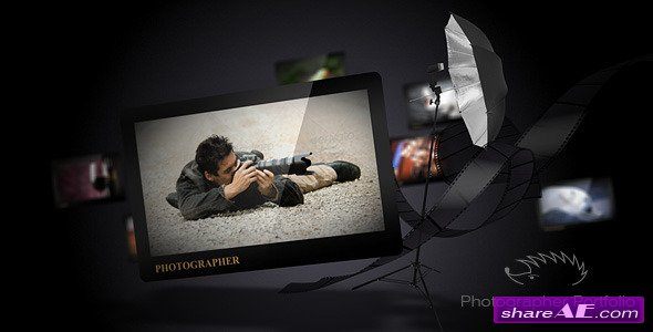 Photographer Portfolio - After Effects Project (Videohive)