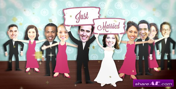 Wedding Dance Party - After Effects Project (Videohive)