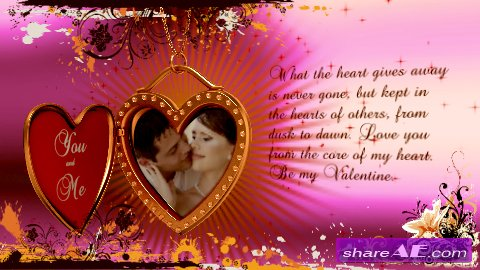 Valentine's Day Greeting - After Effects Project (Videohive)