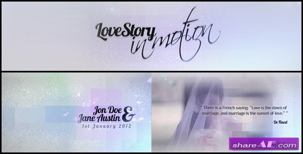 Love Story - In Motion - After Effects Project (Videohive)