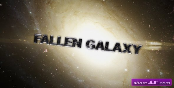 Fallen Galaxy - After Effects Project (Videohive)