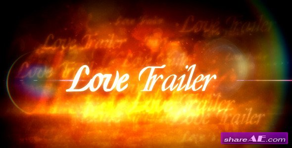 Love Trailer - After Effects Project (Videohive)