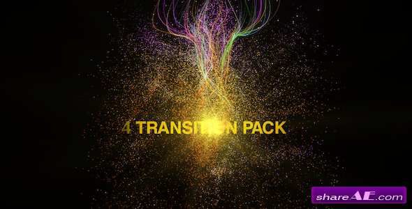 Particules Transitions Pack - After Effects Project (Videohive)