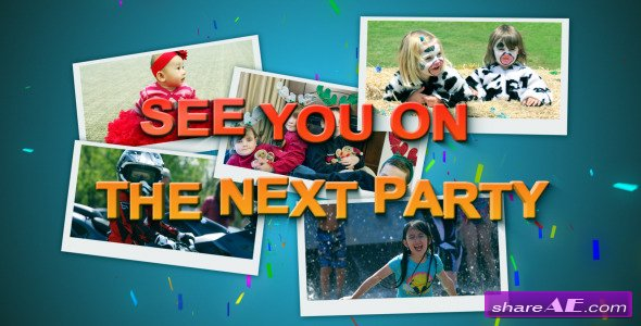 Kids Party - After Effects Project (Videohive)
