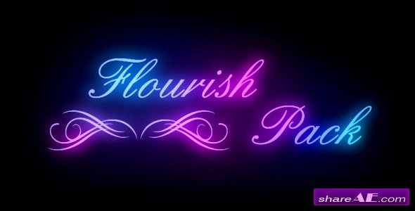 Flourish Pack - Project After Effects (Videohive)