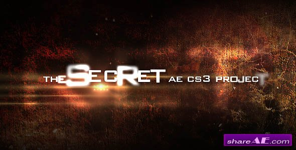 The secret -  After Effects Project (Videohive)