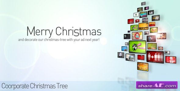 Corporate Christmas Tree - After Effects Project (Videohive)