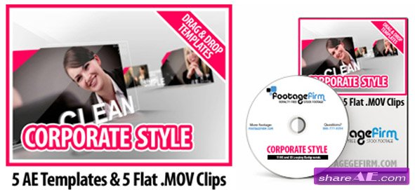 Footage Firm - Corporate Style Templates - After Effects Project