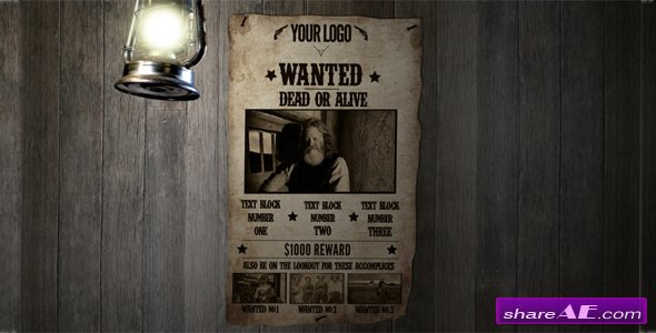 Most Wanted 182561 - After Effects Project (Videohive)