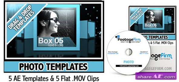 Footage Firm - Photo Templates - After Effects Project