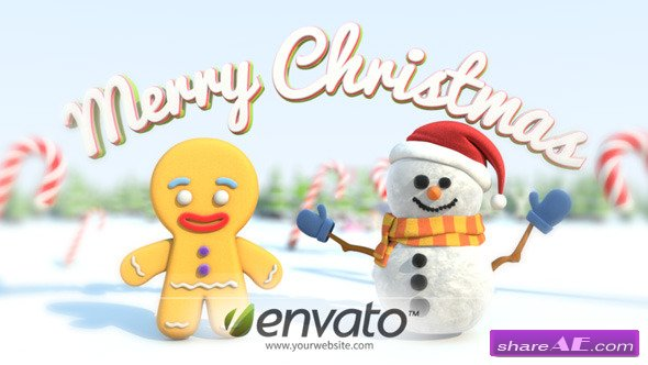 A Very Very Merry Christmas Card - After Effects Project (Videohive)