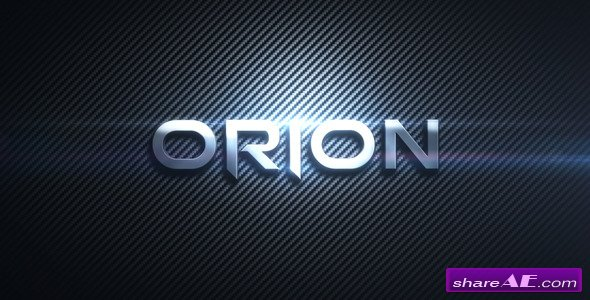 Orion 2925588 After Effects Project Videohive 187 Free