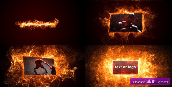 Hot particles - After Effects Project (Videohive)