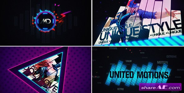 UnitedMotions - After Effects Project (Videohive)