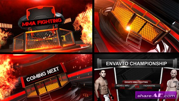 Mma Fighting Broadcast Package - After Effects Project (Videohive)