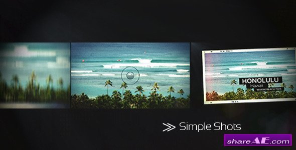 Simple Shots - After Effects Project (Videohive)