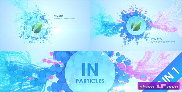 In Particles - After Effects Project (Videohive)