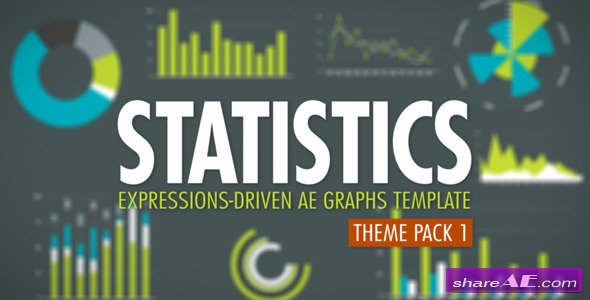 Statistics Theme Pack 1 - After Effects Project (Videohive)
