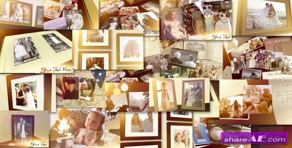 Family Photo Album Slideshow - After Effects Project (Videohive)