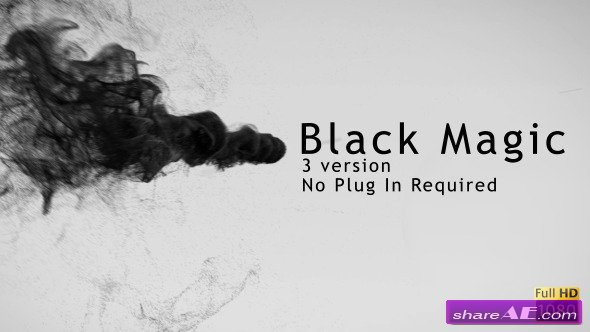 Black Magic - After Effect Project (Videohive)