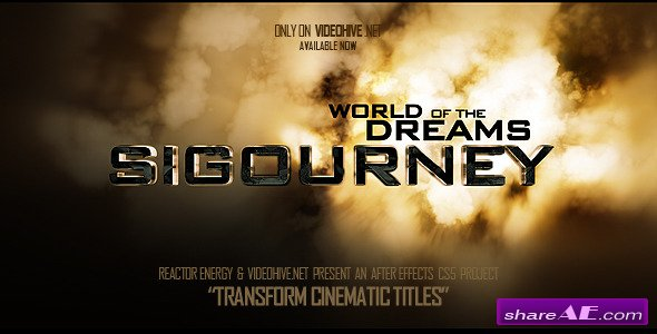 Transform Cinematic Titles - After Effects Project (Videohive)