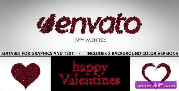 Romantic Logo and Text Reveal - After Effects Project (Videohive)