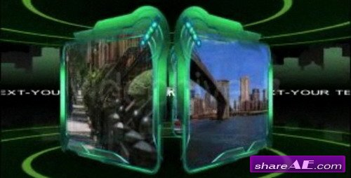Green Frames - After effect projects (Videohive)