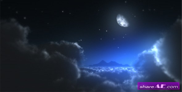 Night Sky Logo - After Effects Project (Videohive)