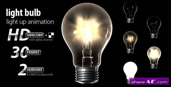 Light Bulb - Motion Graphics (VideoHive)