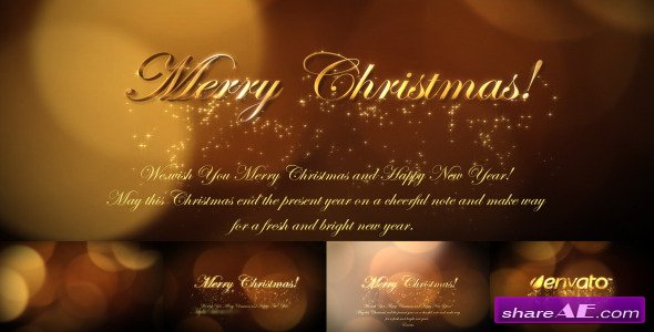 Christmas greetings 6139334 - After Effects Project (Videohive)