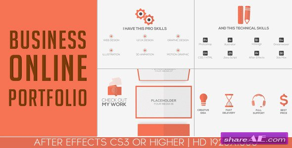 Business Online Portfolio - After Effects Project (Videohive)